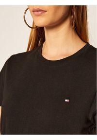 Czarny t-shirt TOMMY HILFIGER