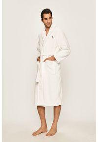 Biały szlafrok Polo Ralph Lauren polo