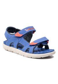 Niebieskie sandały Timberland