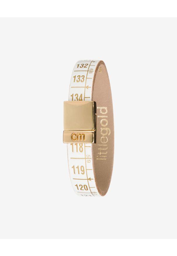 Bransoletka Il Centimetro w kolorowe wzory, złota