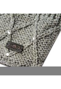 Czapka CMP - 5505202 Grigio Mel U632. Kolor: szary. Materiał: akryl, materiał
