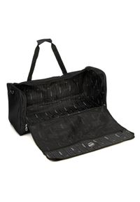 Czarna torba podróżna Wittchen z haftami, elegancka