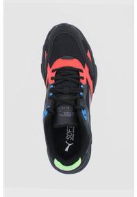 Puma - Buty X-Ray Millenium. Nosek buta: okrągły. Zapięcie: sznurówki. Kolor: czarny. Materiał: guma. Obcas: na platformie