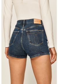 Niebieskie szorty Calvin Klein Jeans na co dzień, casualowe