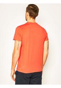 Pomarańczowy t-shirt Tommy Sport sportowy