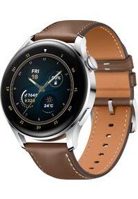 HUAWEI - Smartwatch Huawei Watch 3 Brązowy (001878360000). Rodzaj zegarka: smartwatch. Kolor: brązowy