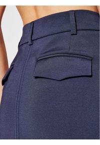 Niebieskie spodnie materiałowe Victoria Victoria Beckham