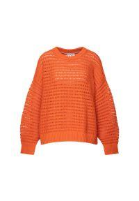 Pomarańczowy sweter TOMMY HILFIGER