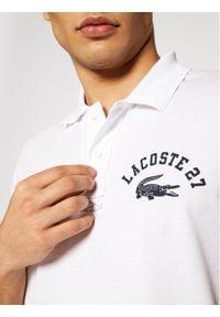 Lacoste Polo YH0028 Biały Regular Fit. Typ kołnierza: polo. Kolor: biały