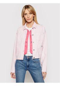 Różowa kurtka jeansowa Converse