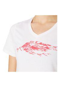 Koszulka turystyczna damska McKinley Kulma 411516. Materiał: syntetyk, materiał, poliester, tkanina, włókno. Długość rękawa: krótki rękaw. Długość: krótkie