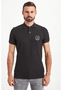 Koszulka polo John Richmond Sport polo, z nadrukiem, sportowa