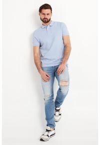 Koszulka polo JOOP! Jeans sportowa, polo, w jednolite wzory