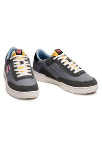 Colmar - Sneakersy COLMAR - Foley Ring 060 Gray/Yellow/Lt Blue. Kolor: szary. Materiał: zamsz, materiał, skóra ekologiczna. Szerokość cholewki: normalna