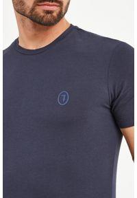 T-shirt Trussardi Jeans elegancki, w kolorowe wzory #5