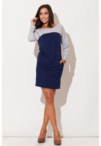 Niebieska sukienka Katrus na lato