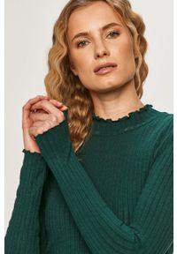 Zielony sweter Noisy may długi, z długim rękawem