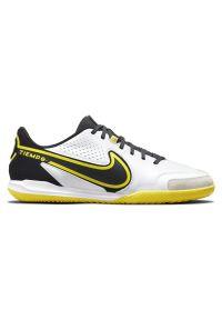 Buty piłkarskie halowe Nike Tiempo Legend 9 Academy IC DA1190. Materiał: skóra, guma. Szerokość cholewki: normalna. Sport: piłka nożna