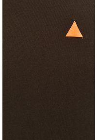 Czarna bluza nierozpinana Blend na co dzień, z okrągłym kołnierzem, z aplikacjami