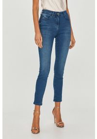 Niebieskie jeansy Patrizia Pepe klasyczne