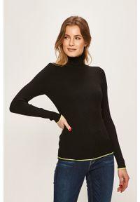 Czarny sweter only z golfem