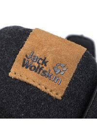 Czarne trzewiki Jack Wolfskin eleganckie, z cholewką