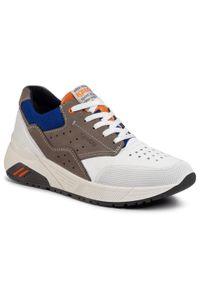 Białe sneakersy Igi & Co na co dzień, z cholewką