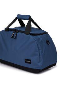 Wittchen - Torba podróżna basic mała. Kolor: niebieski. Materiał: poliester. Styl: sportowy, casual