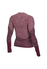 Koszulka damska do biegania Nike Runway CU3389. Materiał: poliester, materiał, elastan. Długość rękawa: długi rękaw. Technologia: Dri-Fit (Nike). Długość: długie. Sport: fitness, bieganie