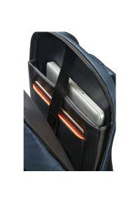 Niebieski plecak na laptopa Samsonite