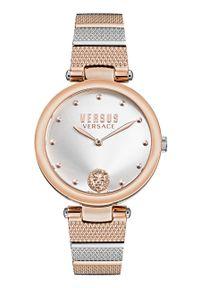 Versus Versace - Zegarek VSP1G0821. Kolor: różowy. Materiał: materiał