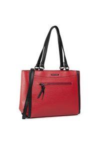 Czerwona torebka klasyczna Wittchen