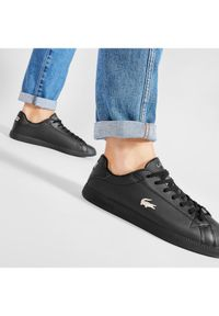 Lacoste Sneakersy Graduate 0721 1 Sma 7-41SMA0011 Czarny. Kolor: czarny