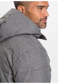 Szara kurtka bonprix melanż, na zimę