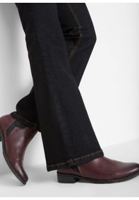 Dżinsy ze stretchem BOOTCUT, bestsellery bonprix czarny. Kolor: czarny. Styl: klasyczny