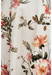 Marie Zélie - Sukienka Aerin Chloris. Materiał: bawełna, skóra, materiał, elastan. Typ sukienki: trapezowe