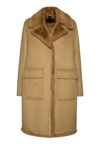 Brązowy płaszcz zimowy Blauer