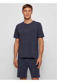BOSS - Boss T-Shirt Identity Rn 50442645 Granatowy Regular Fit. Kolor: niebieski