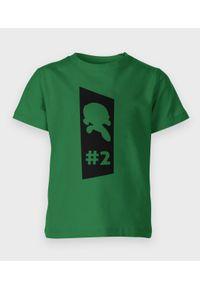 MegaKoszulki - Koszulka dziecięca Atom Green one. Materiał: bawełna