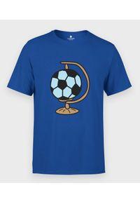 MegaKoszulki - Koszulka męska Piłka Nożna Całym Moim Światem. Materiał: bawełna