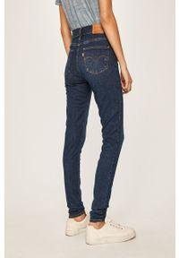 Niebieskie jeansy Levi's® na spotkanie biznesowe, biznesowe, w kolorowe wzory