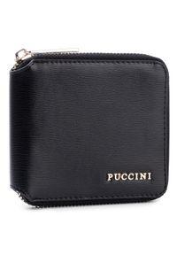 Czarny portfel Puccini