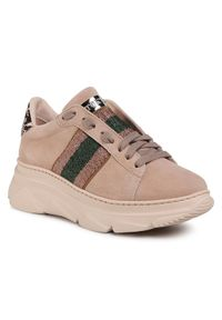 Beżowe buty sportowe Stokton