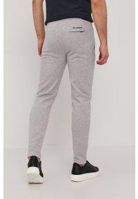 Karl Lagerfeld - Spodnie. Okazja: na co dzień. Kolor: szary. Styl: casual