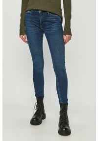 Cross Jeans - Jeansy Alan. Stan: podwyższony. Kolor: niebieski