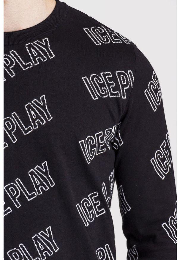 Sweter Ice Play z okrągłym kołnierzem