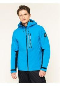 Quiksilver Kurtka narciarska Stretch Fjord EQYTJ03210 Niebieski Regular Fit. Kolor: niebieski. Sport: narciarstwo