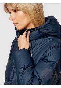 Rains Kurtka puchowa Unisex 1507 Granatowy Regular Fit. Kolor: niebieski. Materiał: puch