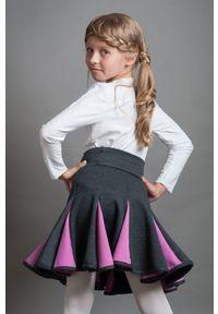 Spódniczka Hultaj Polski młodzieżowa, krótka, w kolorowe wzory