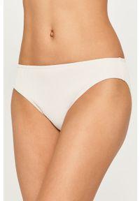 Biały strój kąpielowy dwuczęściowy Roxy gładki